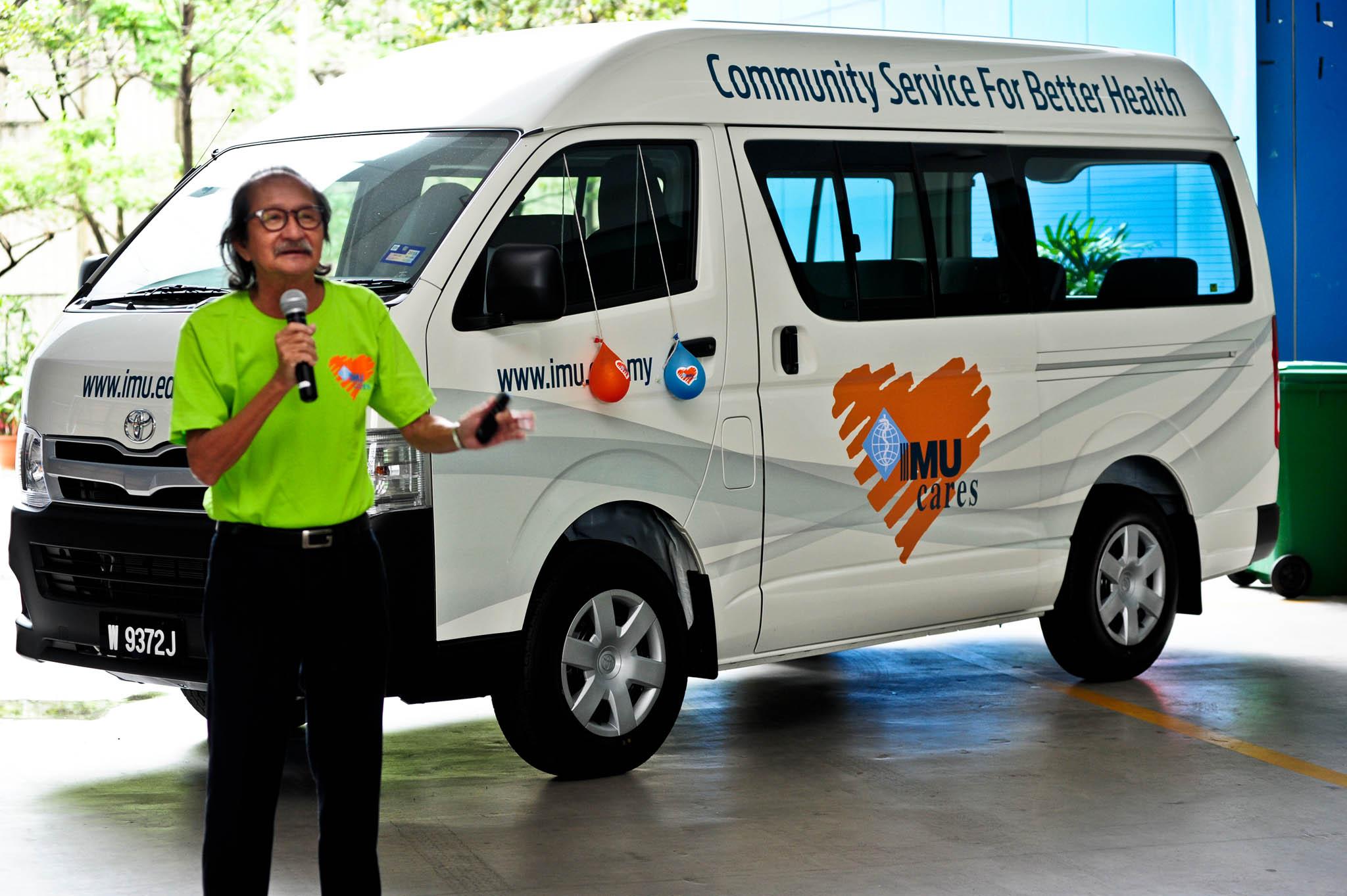 IMU Cares Van