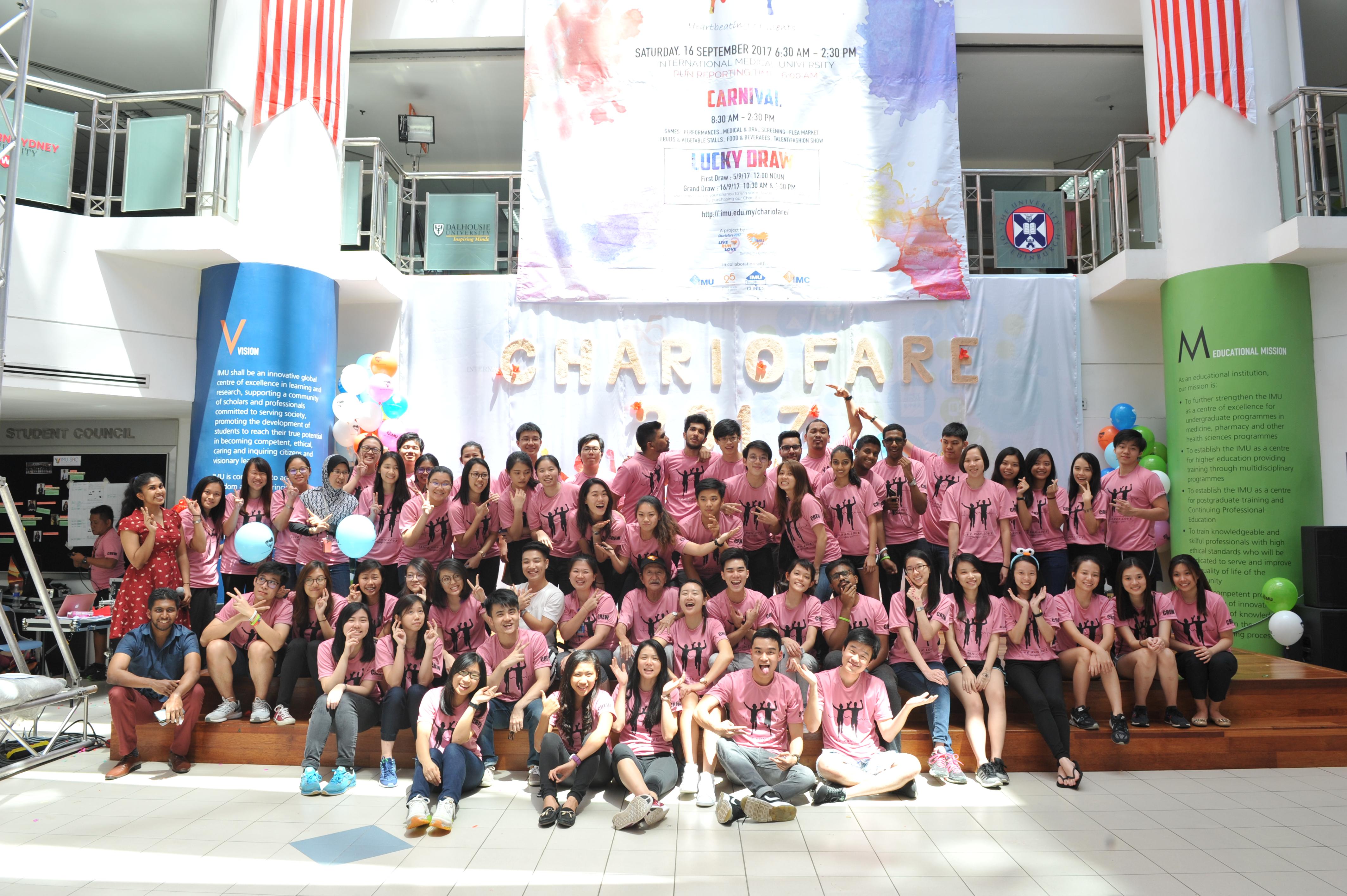 Chariofare 2017 Group